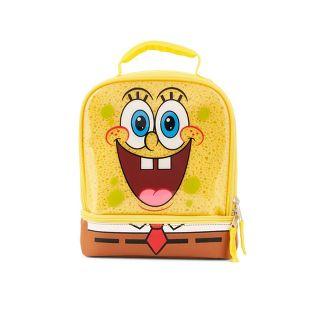 SpongeBob Kids' Dual Compartment Lunch Bag