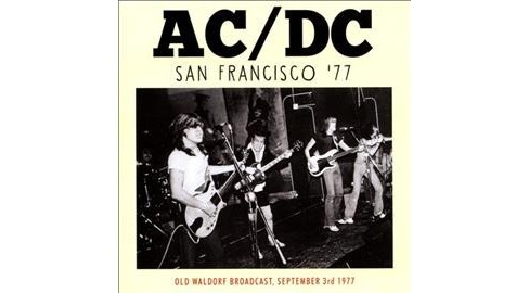 Ac & dc - San francisco 77 (CD) - image 1 of 1