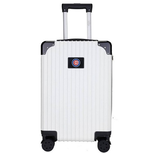 "MLB Chicago Cubs 21"" Executive Two-Tone Carry On Suitcase - White - image 1 of 1"
