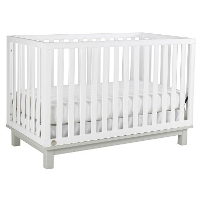 Fisher-Price Riley 3-in-1 Convertible Crib - Snow White/Misty Gray