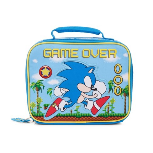 Sonic The Hedgehog Game Over Kids Lunch Tote Target