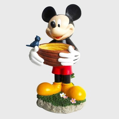 "Disney Mickey Mouse 22"" Birdbath Resin Statue"