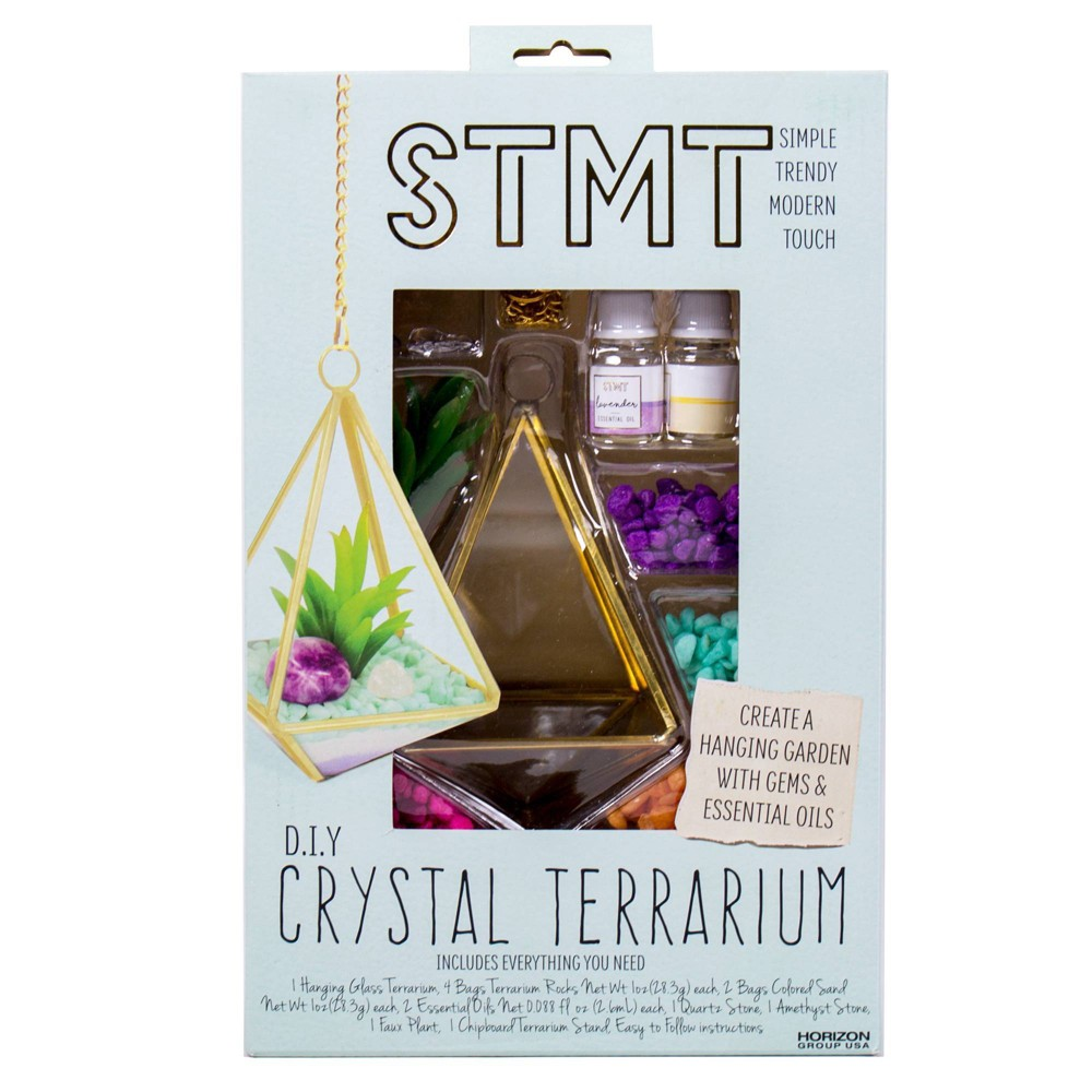 Image of STMT D.I.Y. Crystal Terrarium Activity Kit