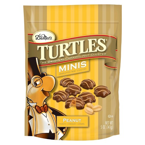 Turtles Minis Peanut Candy And Chocolate Variety Packs - 5oz - image 1 of 1