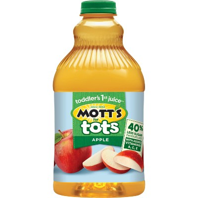 Mott's for Tots Apple Juice - 64 fl oz Bottle