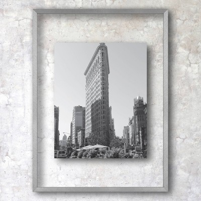 "11"" x 15"" Float Thin Gallery Frame Silver - Project 62™"