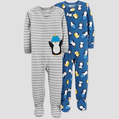 7921fed6a Toddler Boys  Stripe Penguin Pajama Set - Just One You® Made By ...