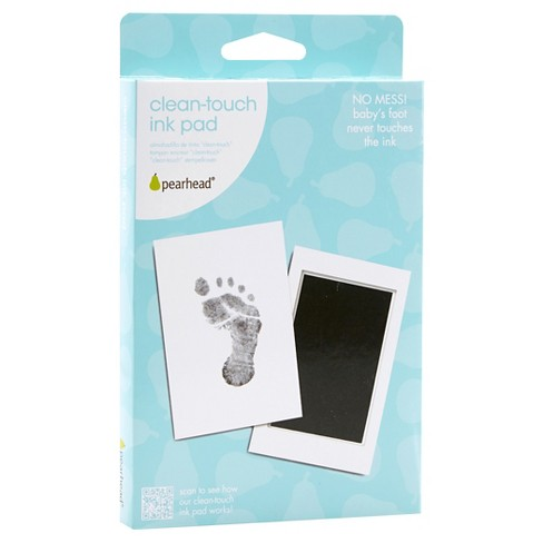 2 Count Clean Touch Ink Pad for Baby Handprint Footprint