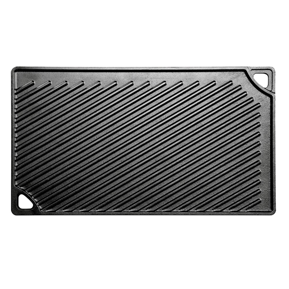 """Image of """"Lodge 16.75"""""""" x 9.5"""""""" Cast Iron Reversible Griddle"""""""