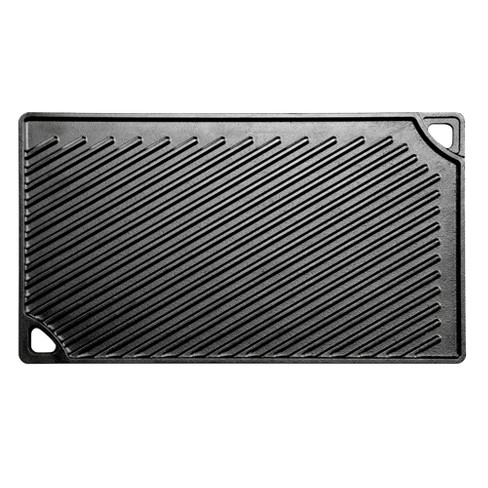 "Lodge 16.75"" x 9.5"" Cast Iron Reversible Griddle - image 1 of 3"