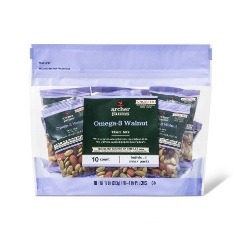 Omega 3 Walnut Trail Mix - 10ct - Archer Farms™ - image 1 of 1