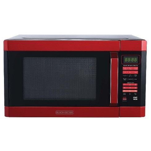 Black Decker 1 6 Cu Ft 1100w Microwave