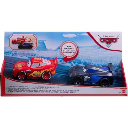 Disney Pixar Cars Turbo Racers 2pk - Lightning McQueen & Jackson Storm - image 1 of 1