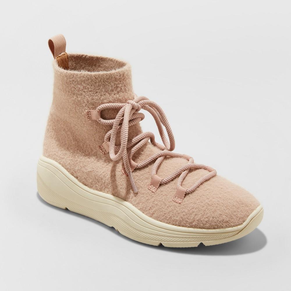 Women's Kamari Seasonal Sneakers Boots - Universal Thread Blush 8.5