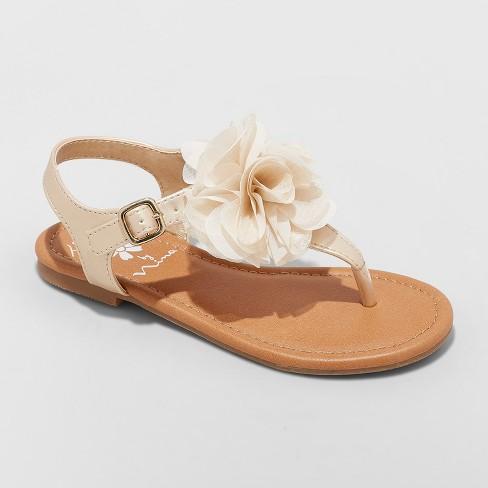 51edfbfa65d3 Girls  Flowers By Nina Michelyn T Strap Sandals   Target
