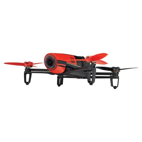 Parrot Bebop Drone Red BeBop Drone  MP Full HD  Fisheye Camera Quadcopter - Red (PF722000) - image 1 of 11