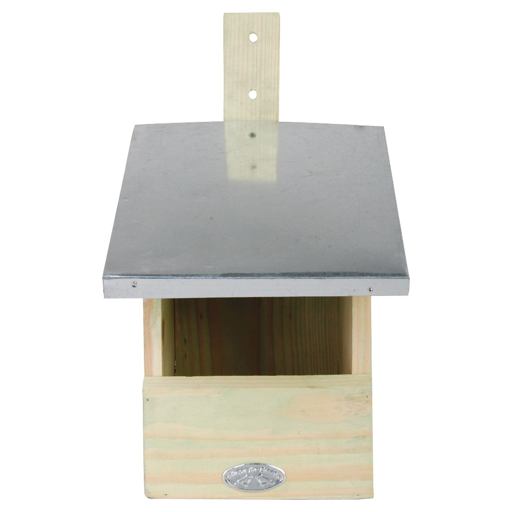 "Image of ""7.6"""" Metal Woodpecker House - Beige - Esschert Design"""
