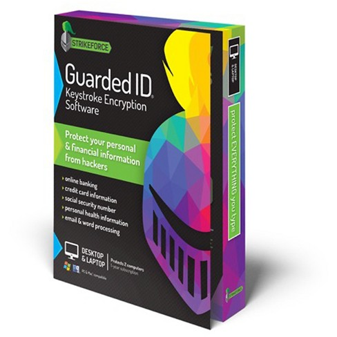 Guarded ID 21 Keystroke Encryption Software - 2pc - image 1 of 3