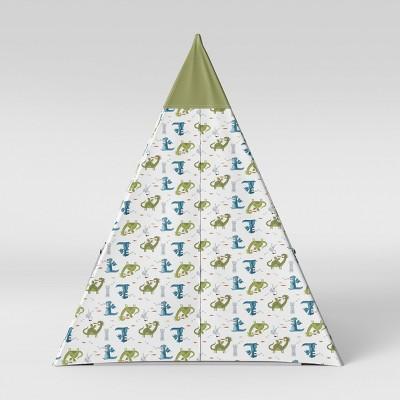 Kids Teepee Dragons Green - Pillowfort™