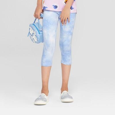 c09436b47190 Girls  Tiedye Capri Leggings - Cat   Jack™ Blue