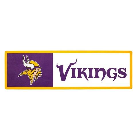NFL Minnesota Vikings Outdoor Step Decal - image 1 of 1