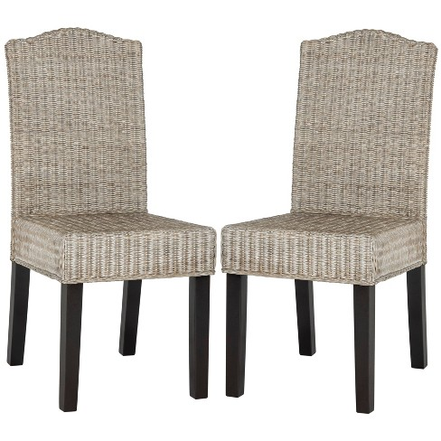 Odette Wicker Dining Chair (Set of 2) - Safavieh® - image 1 of 4