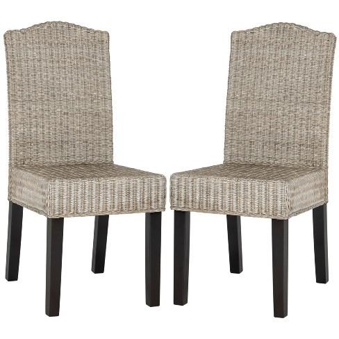 Odette Wicker Dining Chair (Set of 2) - Safavieh®