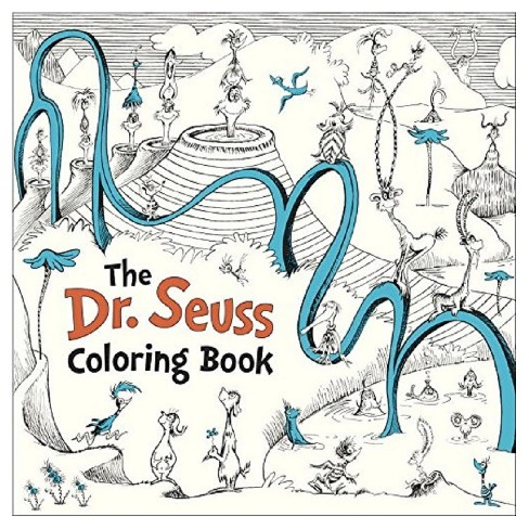The Dr. Seuss Coloring Book (Paperback) by Seuss - image 1 of 1