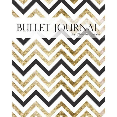 Bullet Journal Notebook, Dotted Grid, Graph Grid-Lined Paper, Large, 8x10,  150 Pages - (Paperback)