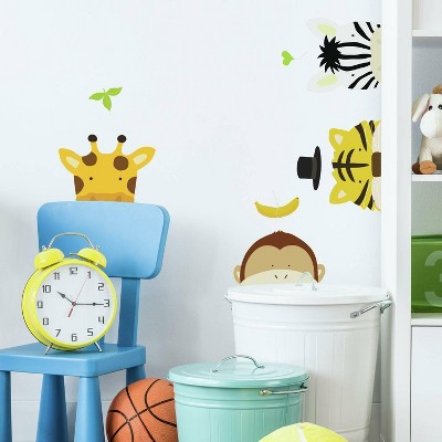 RoomMates Zoo Peel and Stick Wall Decal