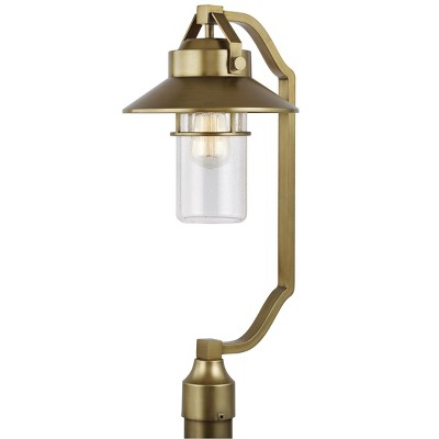 Generation Lighting Boynton 1 light Painted Distressed Brass Outdoor Fixture OL13908PDB