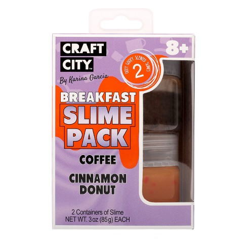 Craft City Karina Garcia 2pk Breakfast Theme Slimes - image 1 of 4