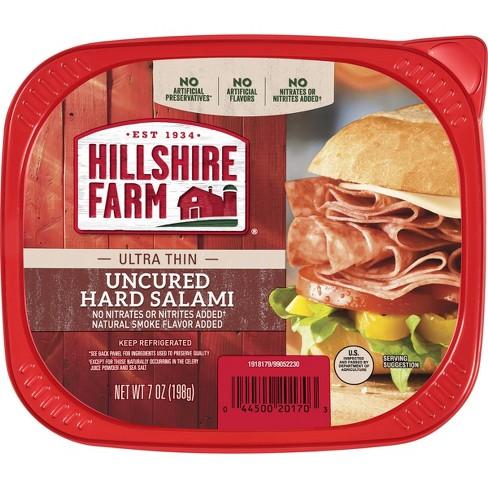 Hillshire Farm Ultra Thin Uncured Hard Salami - 7oz - image 1 of 2