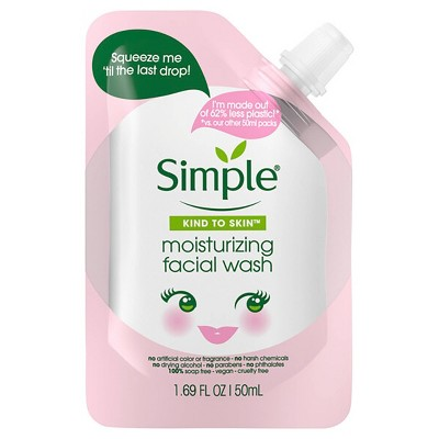 Simple Kind to Skin Moisturizing Facial Wash - 1.69 fl oz