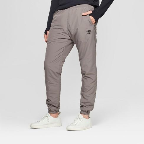 859ddcec Umbro Men's Fleece Lined Woven Jogger Pants - Industrial Grey M : Target