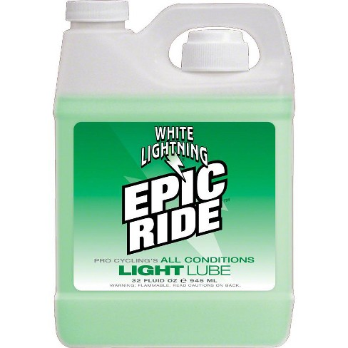 White Lightning Epic Ride Bike Chain Lube - 32 fl oz Bulk - image 1 of 1