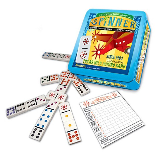 Puremco Spinner Dominoes Game image number null