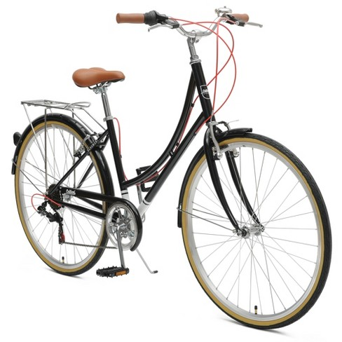 Critical Cycles Ladies Beaumont 7-speed City Road Bike - 44cm - Black - image 1 of 2