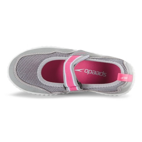 a4353d25990d Speedo Junior Girls  Mary Jane Water Shoes - Gray (Large)   Target