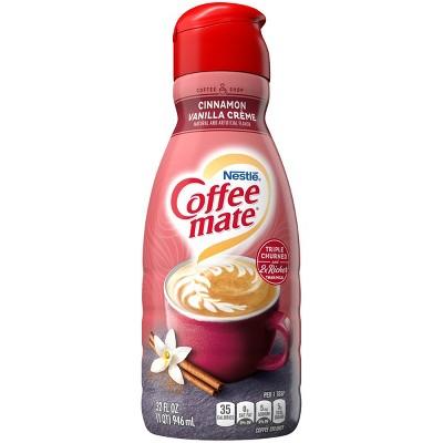 Coffee mate Cinnamon Vanilla Crème Coffee Creamer - 1qt