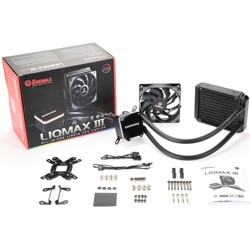 Enermax LIQMAX III ALL-IN-ONE LIQUID CPU COOLER - 1 x 120 mm - 90.1 CFM - 32 dB(A) Noise - Liquid Cooler Cooler - Ceramic Bearing - 4-pin PWM
