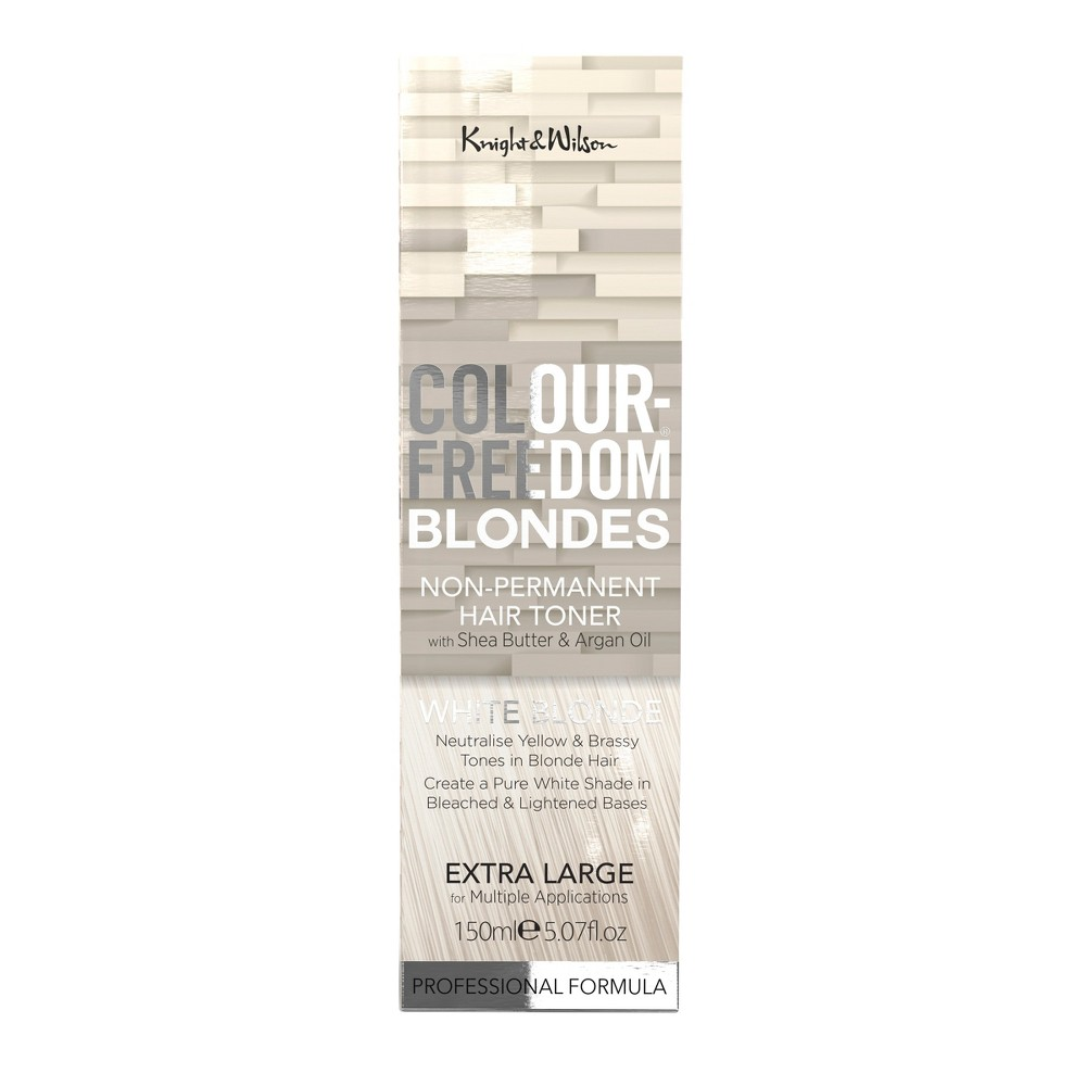 Image of Knight & Wilson Color Freedom Blondes Non-Permanent Hair Toner - White Blonde - 5.07 fl oz