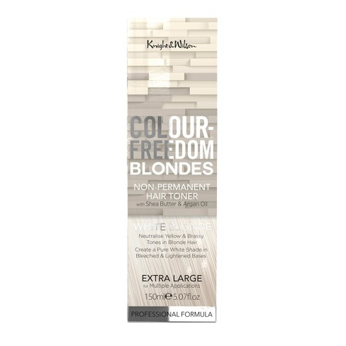 Knight   Wilson Color Freedom Blondes Non-Permanent Hair Toner - White  Blonde - 5.07 Fl Oz   Target 1ee37ada5684