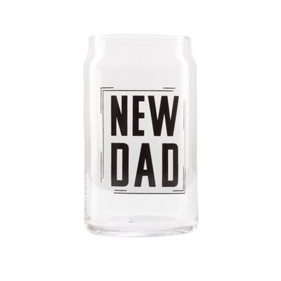 Pearhead New Dad Beer Glass