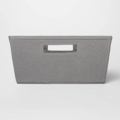 Fabric Half Bin Gray - Threshold™