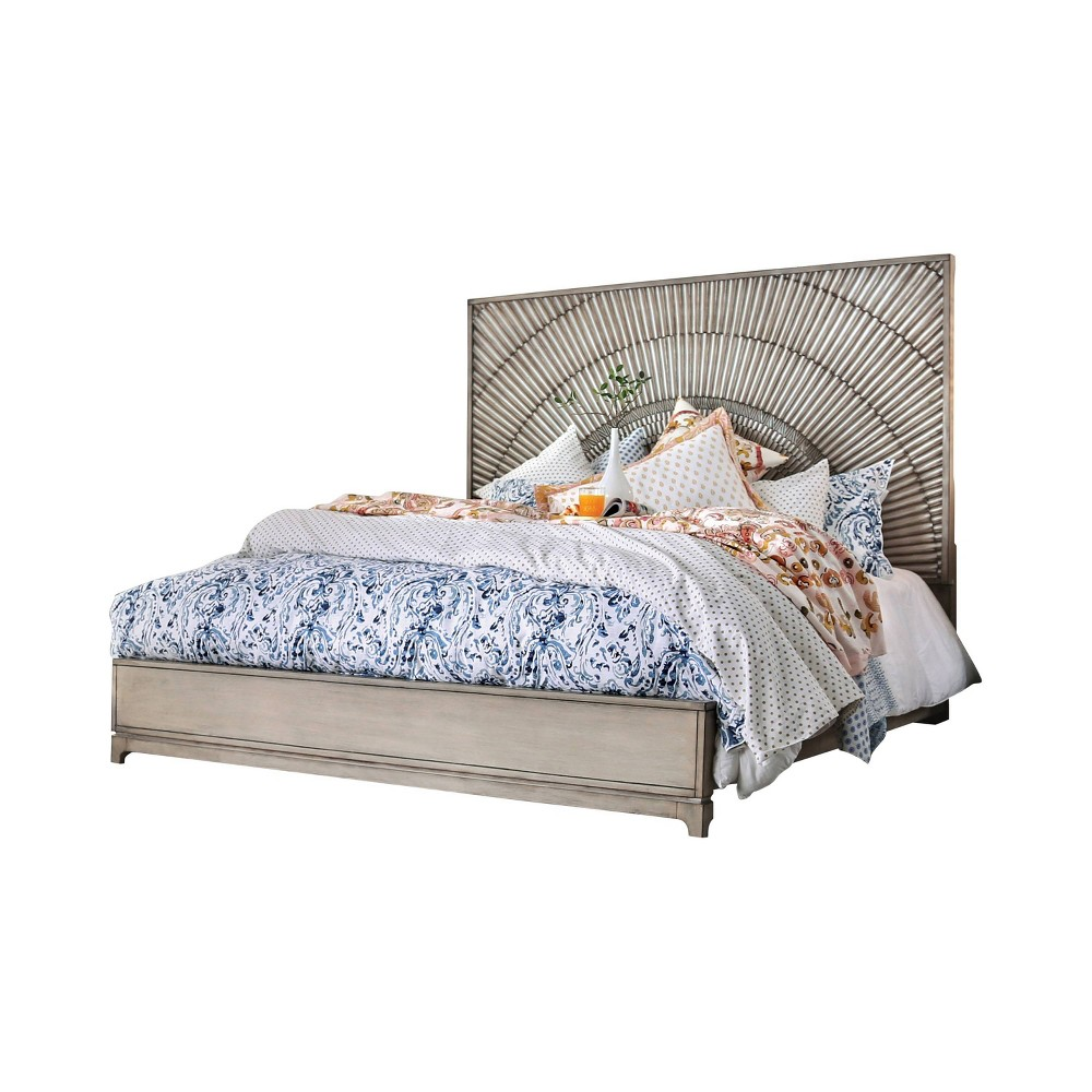 Atwater Queen Panel Bed Antique Gray - Homes: Inside + Out