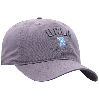 NCAA UCLA Bruins Men's Skill Gray Garment Washed Canvas Hat