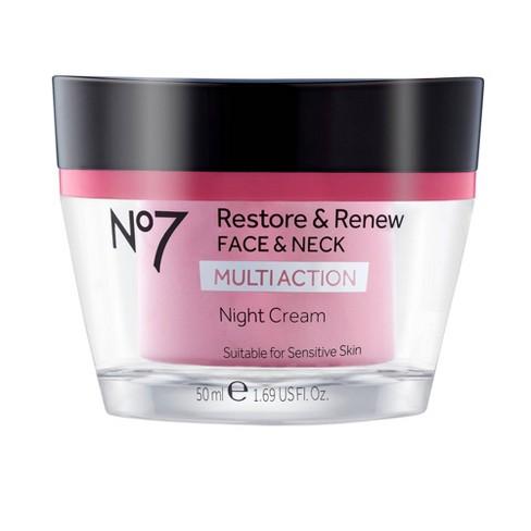 No7 Restore & Renew Face & Neck Multi Action Night Cream - image 1 of 4