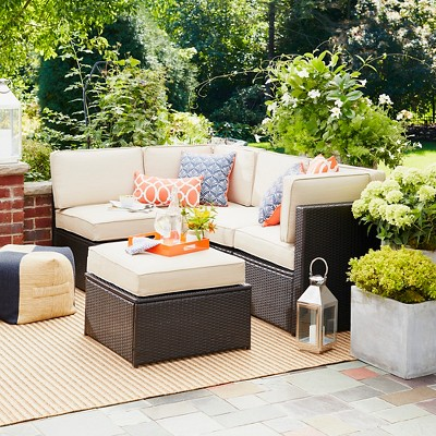 Sedona 5pc All Weather Wicker Patio Sectional - Project 62™