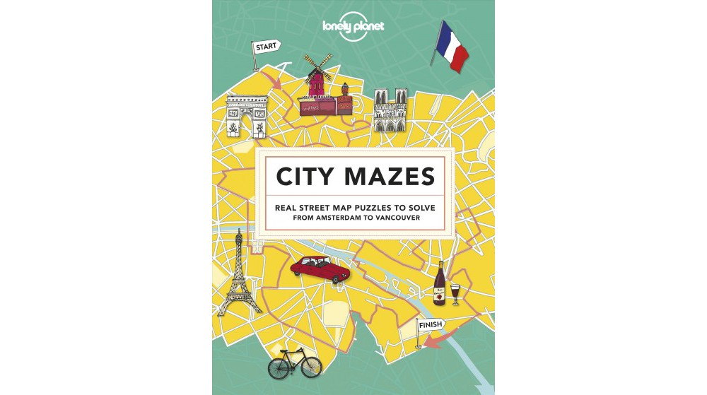 Lonely Planet City Mazes : Real Street Map Puzzles to Sol...